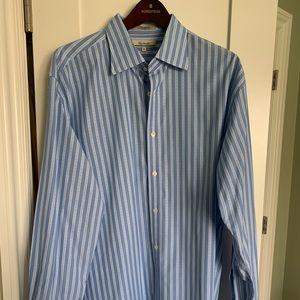 Men's Faconnable French Cuff Dress Shirt XL